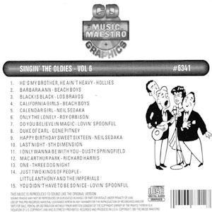 mm6341 - Singin' The Oldies Vol 6