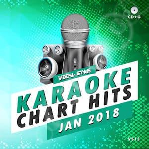 vsch013 - Vocal Star Karaoke Chart Hits January 2018