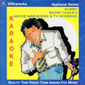 dk3067 - SHOW TUNES 2 - MOVIE MARQUEES & TV SCREENS