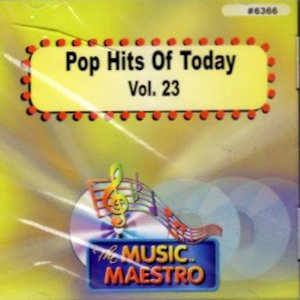 MM6366 - POP HITS OF TODAY  VOL. 23