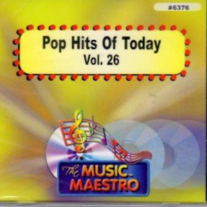 MM6376 - POP HITS OF TODAY VOL. 26