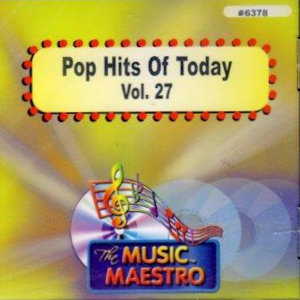 MM6378 - POP HITS OF TODAY  VOL. 27