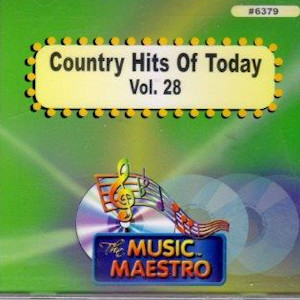 MM6379 - COUNTRY HITS OF TODAY  VOL. 28