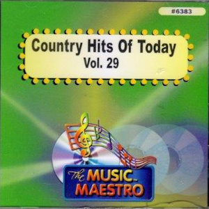 MM6383 - COUNTRY HITS OF TODAY- VOL. 29