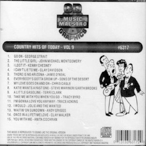 MM6317 - Country Hits Of Today Vol 9