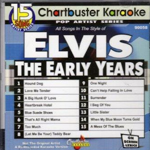 cb90058 - Karaoke Music in the style of Elvis Presley
