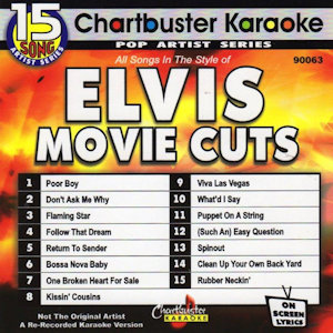 cb90063 - Elvis Movie Cuts Poor Boy Don't Ask Me Why Flaming Star Follow That Dream Return To Sender Bossa Nova Baby One Broken Heart For Sale Kissin' Cousins Viva Las Vegas What'd I Say Puppet On A String Easy Question Spinout Clean Up Your Own Back Yard Rubberneckin'