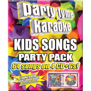 syb4487 - Party Tyme Karaoke Kids Songs Party Pack