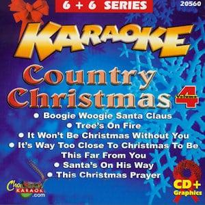 cb20560EG - Chartbuster Karaoke 6X6 Country Christmas Vo 4