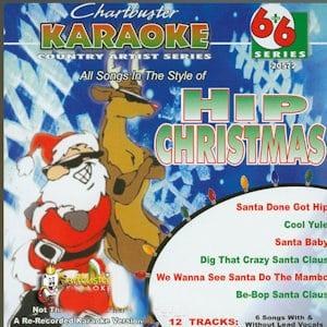 cb20572EG - Chartbuster Karaoke 6X6 Hip Christmas