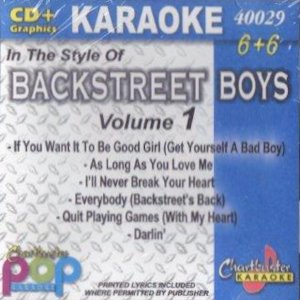 cb40029 - Backstreet Boys Vol 1