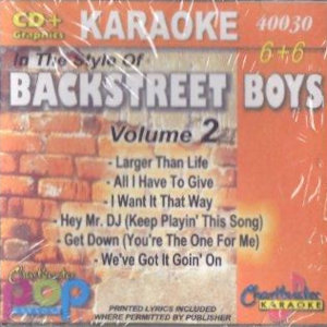 cb40030 - Backstreet Boys Vol 2