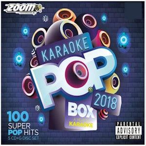 ZPBX2018 - Zoom Karaoke Pop Box 2018 - 5 CDG Set