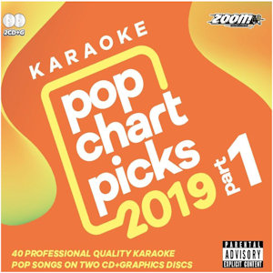 zpcp1901 - Zoom Karaoke Pop Chart Picks Hits of 2019 Part 1