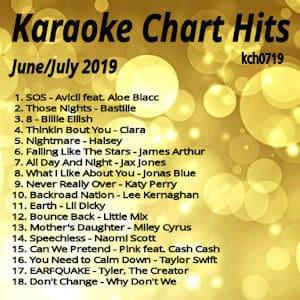 Karaoke Chart Hits June & July 2019