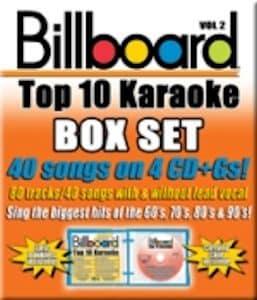 syb4407 Top 10 Karaoke Box Set - Vol 2