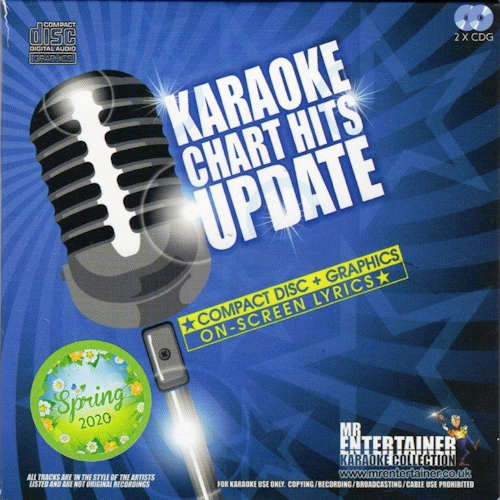 mch20sp – Mr. Entertainer Karaoke Chart Hits Update-Spring 2020