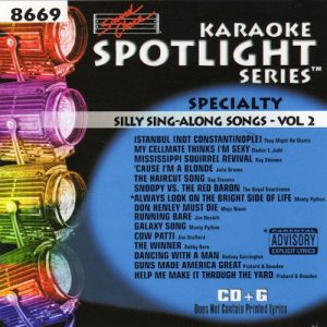 sc8669 - SILLY SING-ALONG SONGS    VOL 2