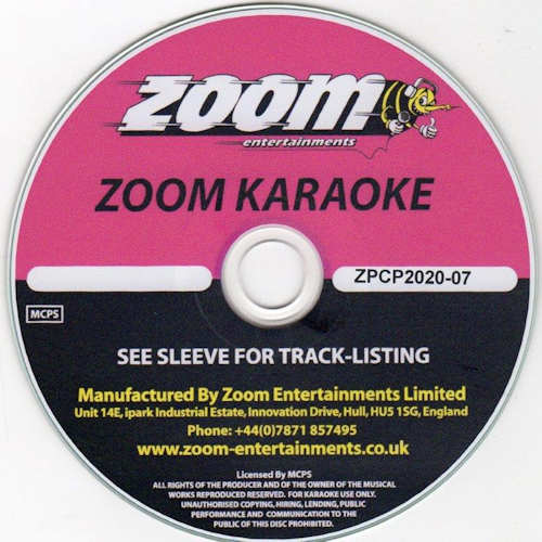 zpcp2007 - Zoom Karaoke Pop Chart Picks Part 7