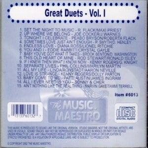 mm6013 - Great Duets vol 1