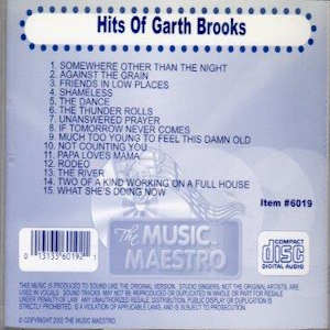 mm6019 - Hits Of Garth Brooks