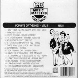 mm6021 - Pop Hits Of The 90's vIII