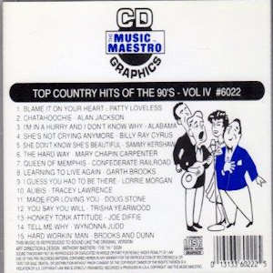 mm6022 - Top Country Hits Of The 90's vIV