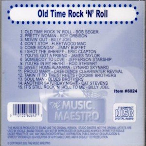 """mm6024 - Old Time Rock """"N"""" Roll"""
