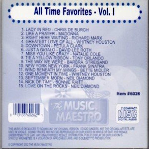 mm6026 - All Time Favorites vol 1