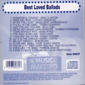 mm6037 - Best Loved Ballads