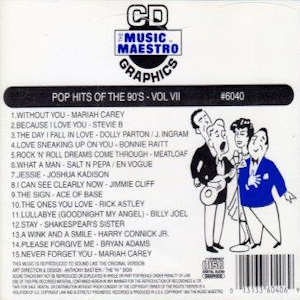 mm6040 - Pop Hits Of The 90's vol VII