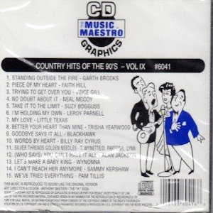 mm6041 - Country Hits Of The 90's vol IX