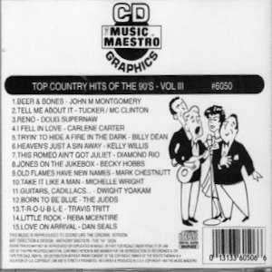 mm6050 - Top Country Hits Of The 90's vol III