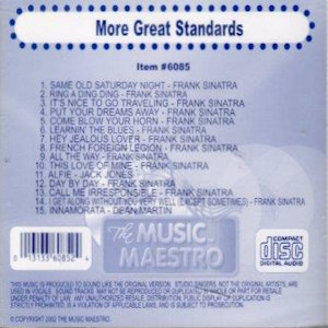 mm6085 - More Great Standards