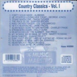 mm6088 - Country Classics vol1