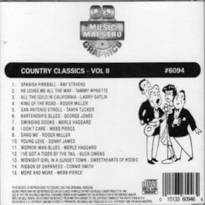 mm6094 - Country Classics vol II