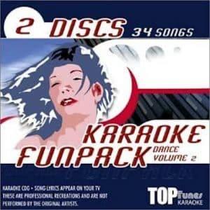 TTFP 37-38 - Pop Karaoke Music Karaoke Disc Pack