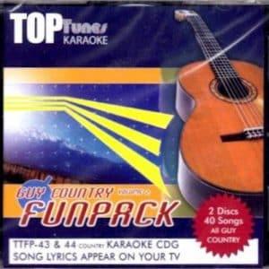 TTFP-43-44 Top Tunes Funpack 40 Songs Karaoke CDG