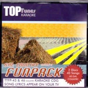 TTFP-45-46 Top Tunes Funpack 40 Songs Karaoke CDG