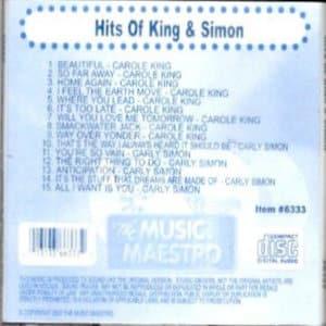 mm6333 - Hits of King & Simon